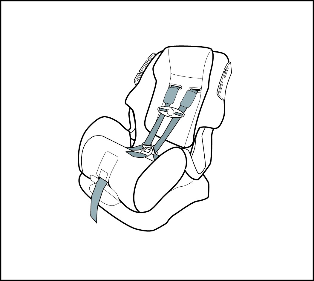 car seat belt harness for children