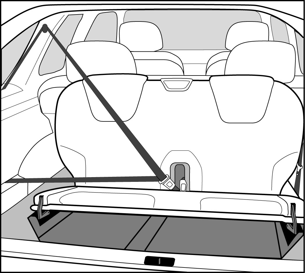 cirp image gallery center for injury research and prevention Transit Wagon rear facing third row seat station wagon