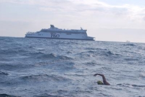 Swimming English Channel for Violence Prevention