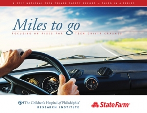 Teenage Driving Statistics Report Miles To Go