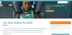 Car Seat Safety for Kids Website