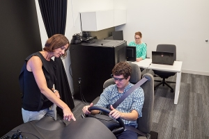 Simulated Driving Assessment at CIRP