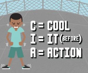 Reducing Aggressive Behavior, CIA Cartoon