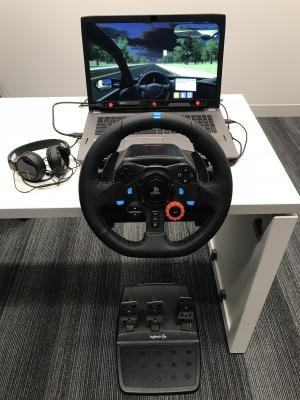 CIRP driving simulator autonomous mode