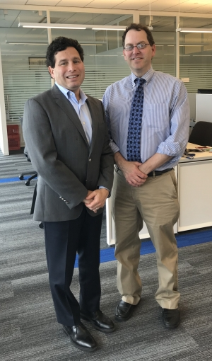 Dr. Fein and Dr. Leff- Co-directors, VPI at CHOP