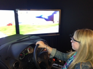 simulated driving assessment