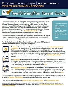 TeenDrivingPlan Parent Guide