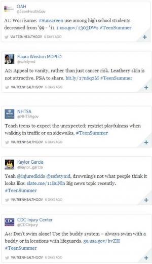 #TeenSummer Twitter Chat
