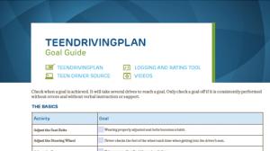 TeenDrivingPlan Goal Guide