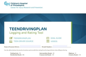 TeenDrivingPlan Logging and Rating Tool