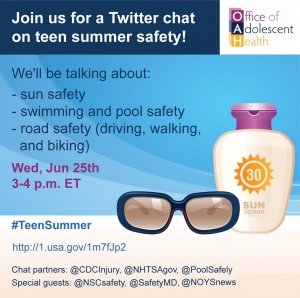 #TeenSummer Twitter Chat June 2014