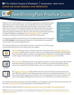 teen driving plan