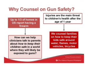 Why Counsel on Gun Safety